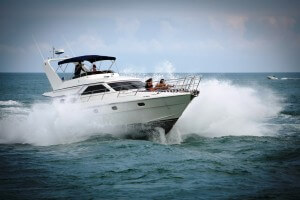 56' Gulf Craft Sport Flybridge Cruiser 2000 Tiger Cat