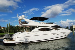 74' Sunseeker Manhattan 2002 Flybridge Motor Yacht