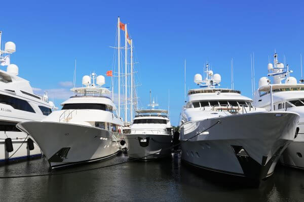 The Fort Lauderdale International Boat Show