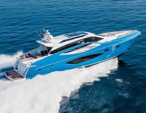 Обзор новой модели яхты Numarine 70 Hardtop