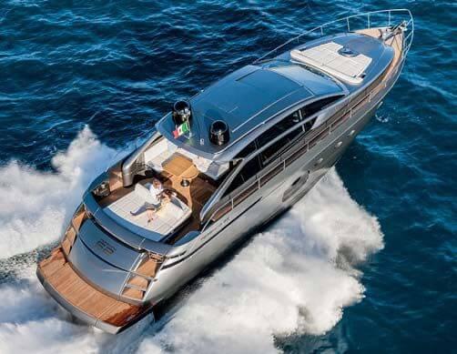 Обзор новой модели яхты PERSHING PREDATOR 62