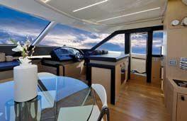 Обзор новой модели яхты Austin Parker 64 FLY S