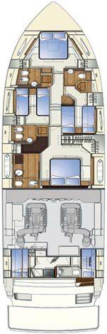 Обзор новой модели яхты FERRETTI 750