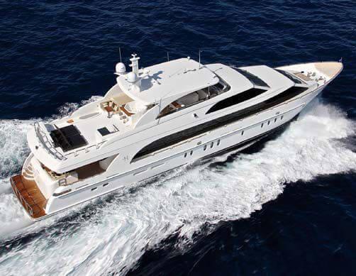 Обзор новой модели яхты Hargrave 125