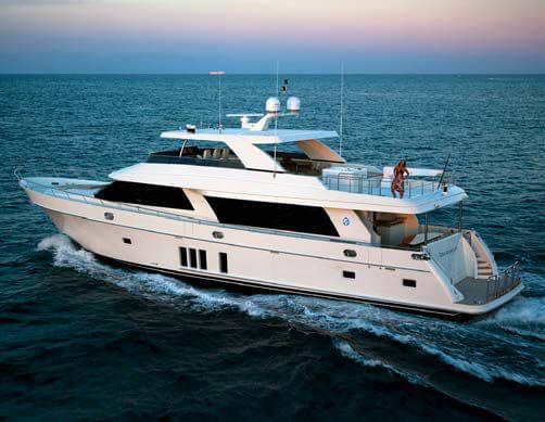 Обзор новой модели яхты Ocean Alexander 90