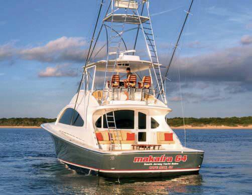 Обзор новой модели яхты OCEAN MAKAIRA 64
