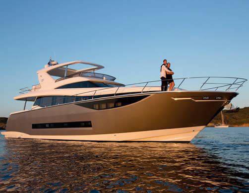 Обзор новой модели яхты Prestige 750