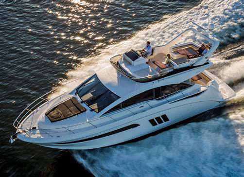 Обзор новой модели яхты Sea Ray 510 Fly