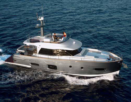 Обзор новой модели яхты Azimut Magellano Line 53