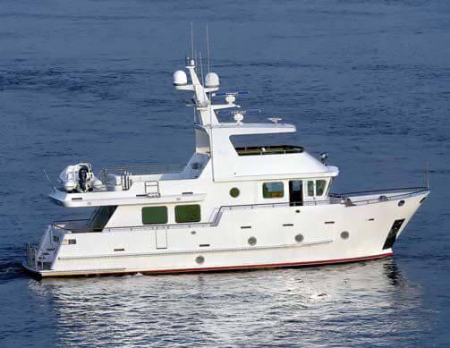 Обзор новой модели яхты Bering 65