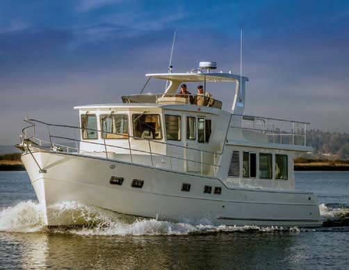 Обзор новой модели яхты North Pacific Yachts 49