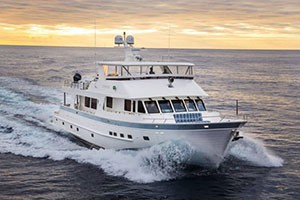 Outer Reef 860 Cockpit Motoryacht