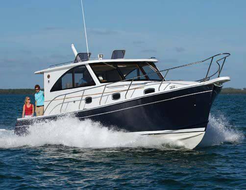 Marlow-Mainship 37 Yacht Review