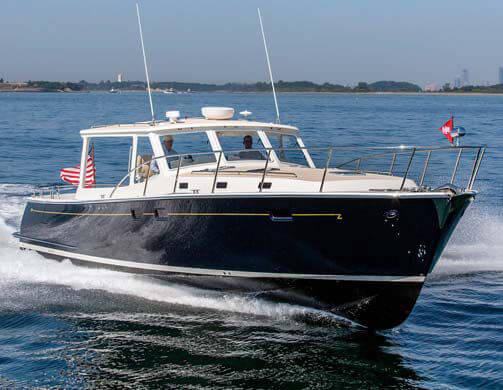 MJM 50Z Yacht Review