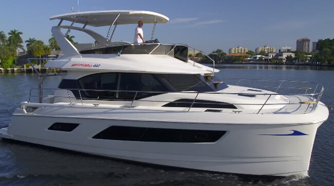Aquila 44 Power Catamaran Yacht Review