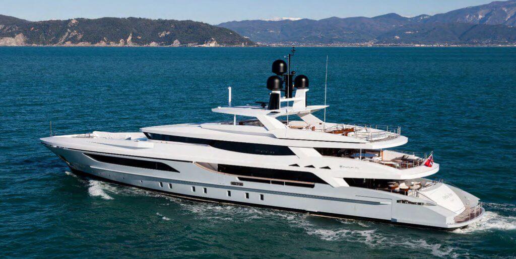 Baglietto 152 yacht buy