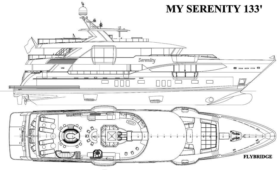 133-футовая яхта IAG SERENITY