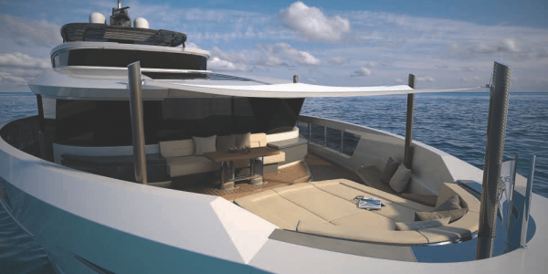 115 Atlantic Yacht Forward terrace