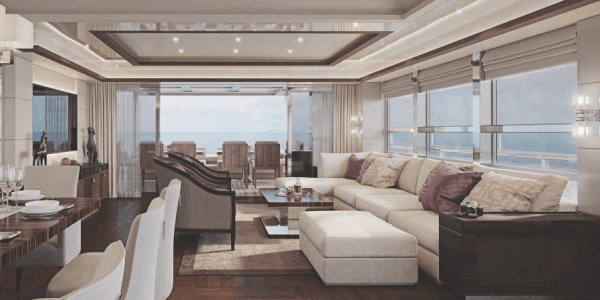 Atlantic 115 Yacht Lobby