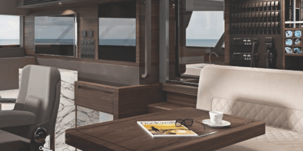Atlantic 115 Yacht Pilothouse