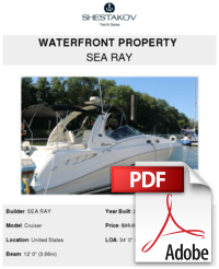 Waterfront Property Sea Ray Buy And Sell Boats
