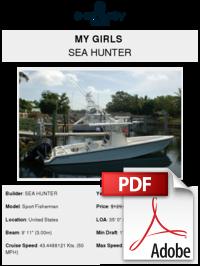 My Girls Sea Hunter Buy And Sell Boats Atlantic